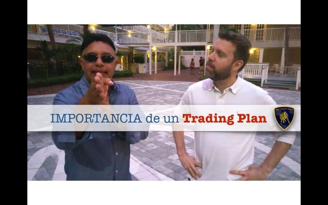 La importancia de un plan de Trading