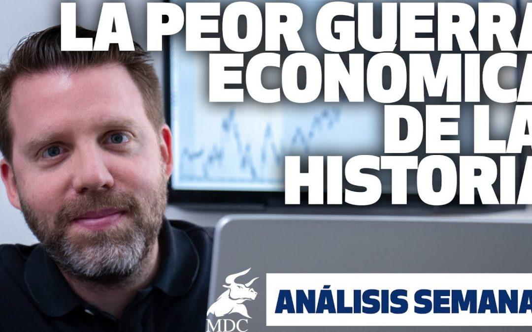 La peor guerra económica de la historia
