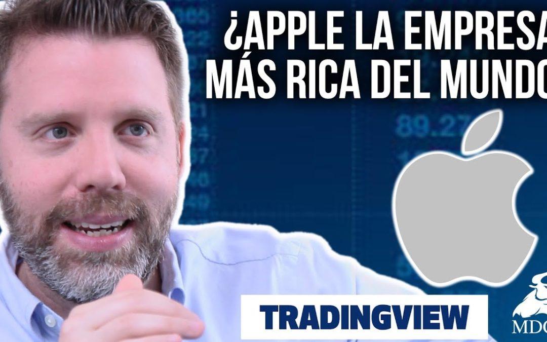 ¿Apple la empresa más rica del mundo?