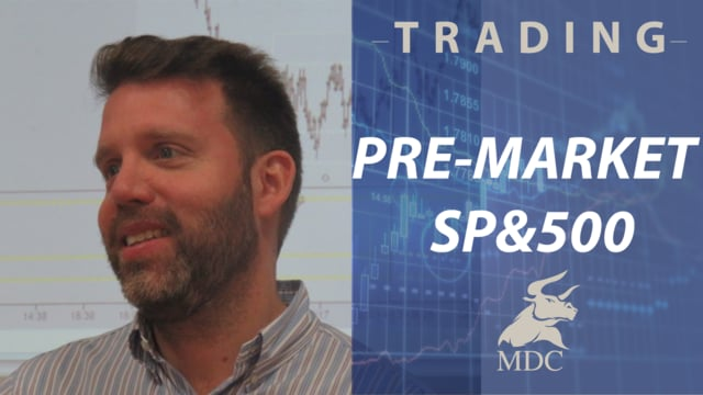 TRADING Analysis Pre market September 25 2018 by Dany Perez Trader