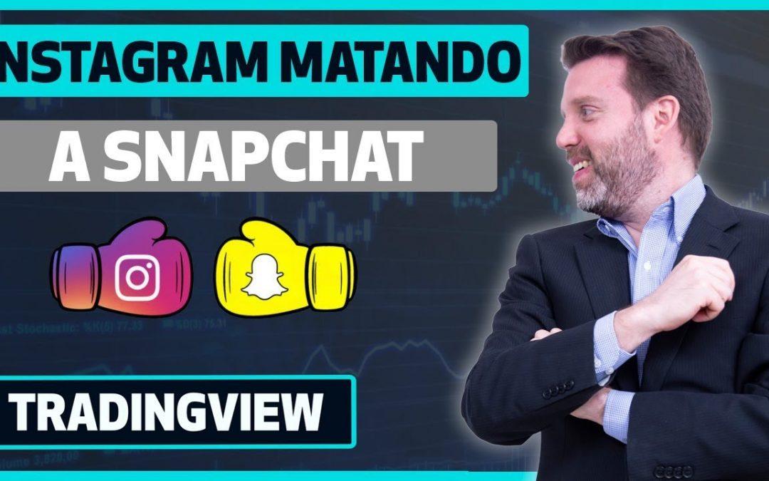 Instagram matando a Snapchat