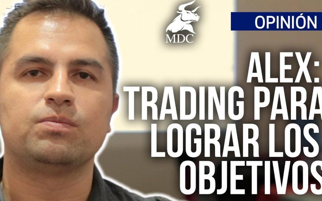 Trading para lograr las metas y objetivos