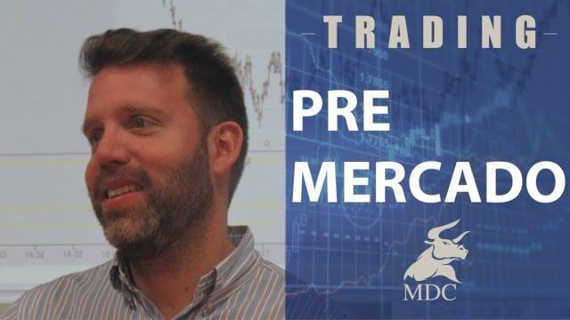 DIA FUERTE DE NOTICIAS análisis del premercado por Dany Perez Trader
