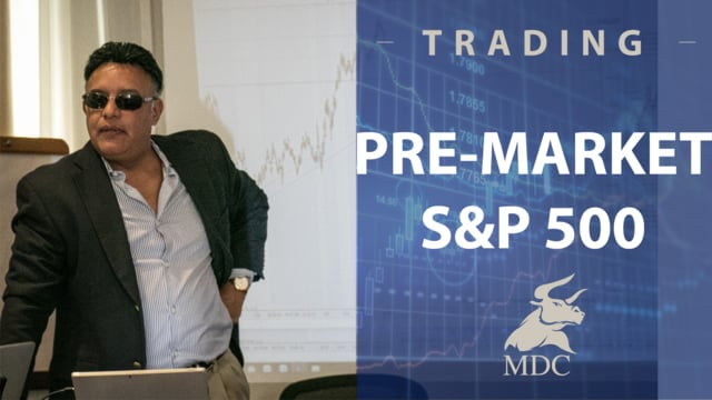 Trading premarket forecast by Manny Cabrera Trader