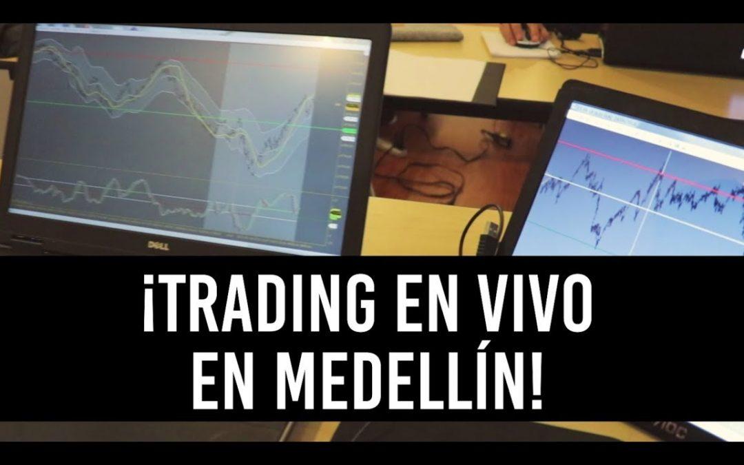 Seminario Presencial Medellín / Trading en Vivo
