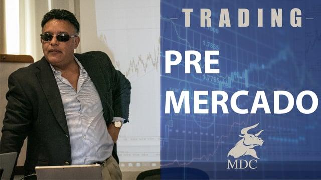 El mercado se mueve fuertemente  de los máximos históricos hacia la media 80 en el daily.  Manny D Cabrera