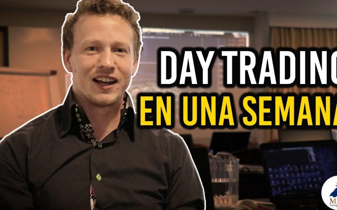 Experiencia: Hacer trading en vivo con MDC Trading Academy | Day Trader Nicolás
