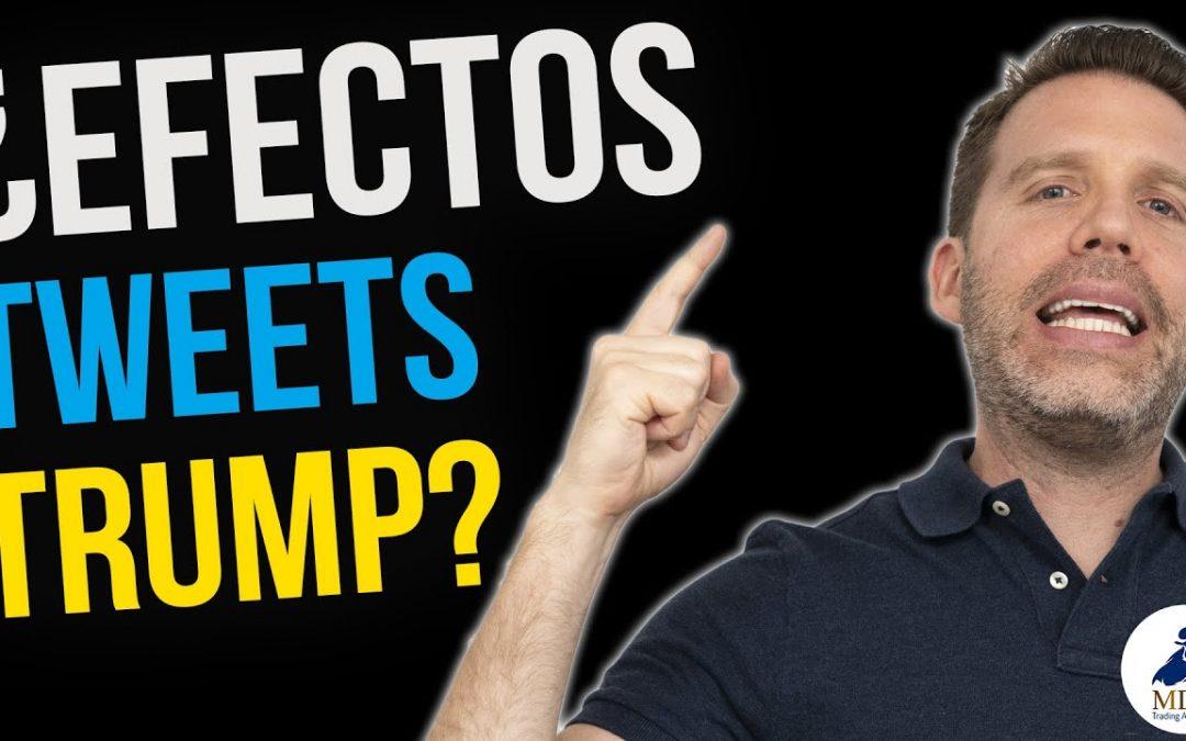TradingView por Dany Perez Trader | ¿Efectos tweets Trump? ¿Recortarán las Tasas en USA?