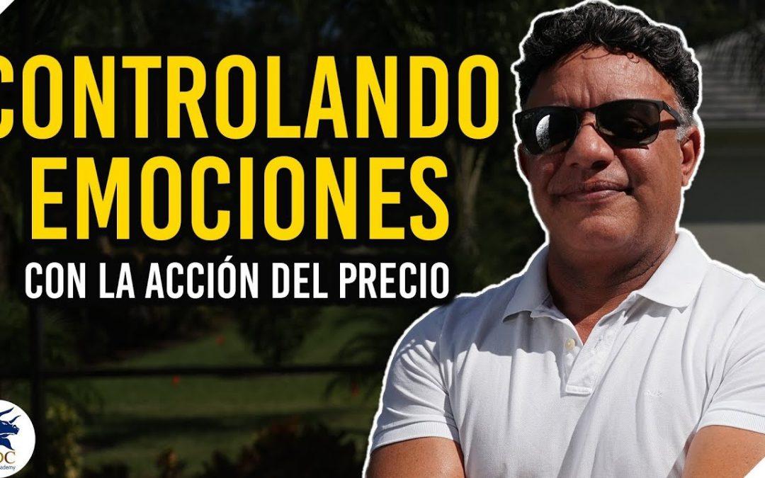 ¿Cómo enfrentar nuestras emociones en un trade ? en vivo | Manny Cabrera Trader
