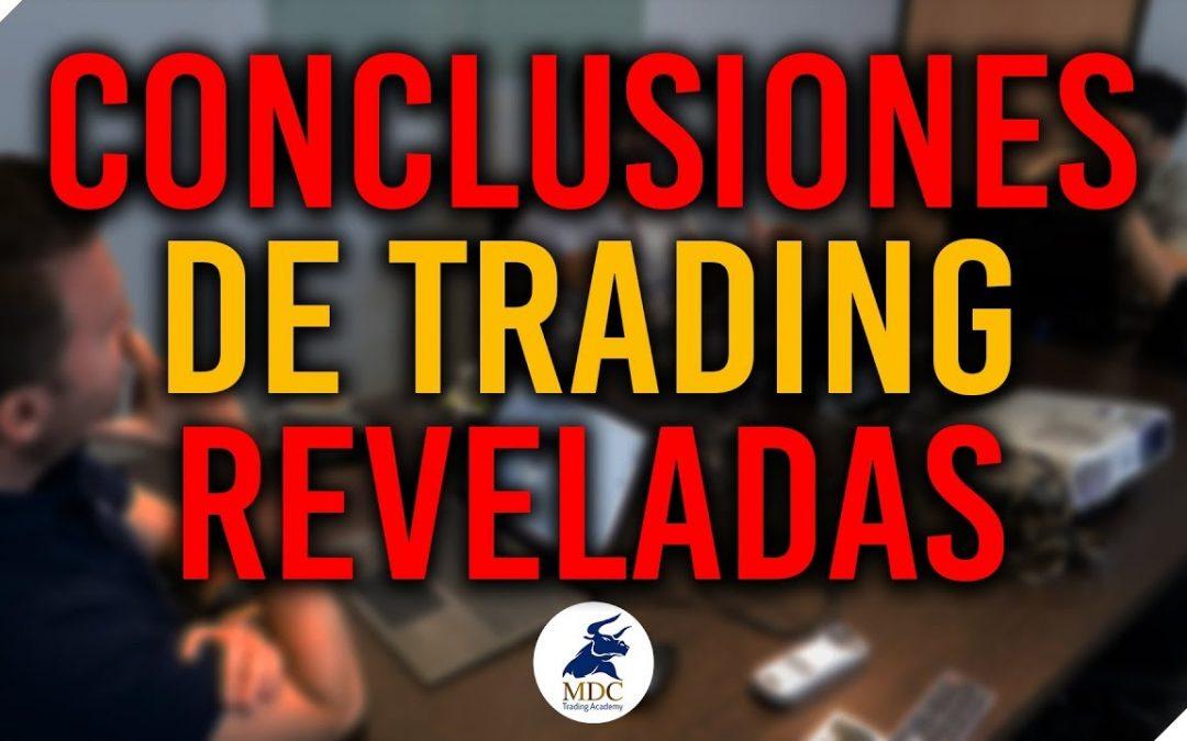 CONCLUSIONES Reflexiones de Trading real