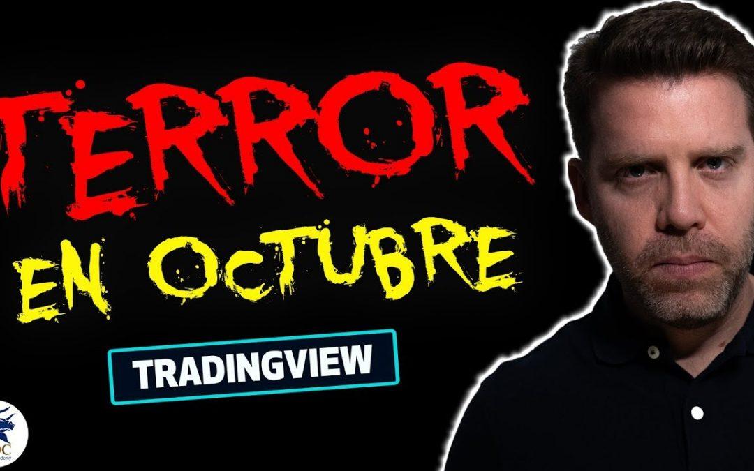 ¡Octubre terrorífico! [Análisis técnico] Comienzan OLAS en el mercado por Dany Perez Trader