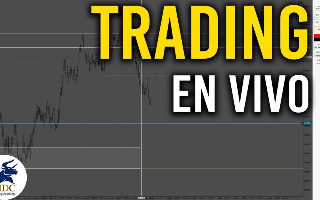 Trading en vivo con acción del precio / Sebastian Zuluaga