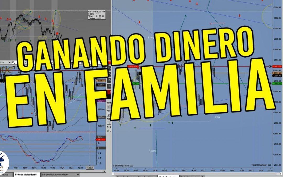 [Trading en vivo] Ganando dinero en familia – Entrenamiento presencial por Dany Pérez