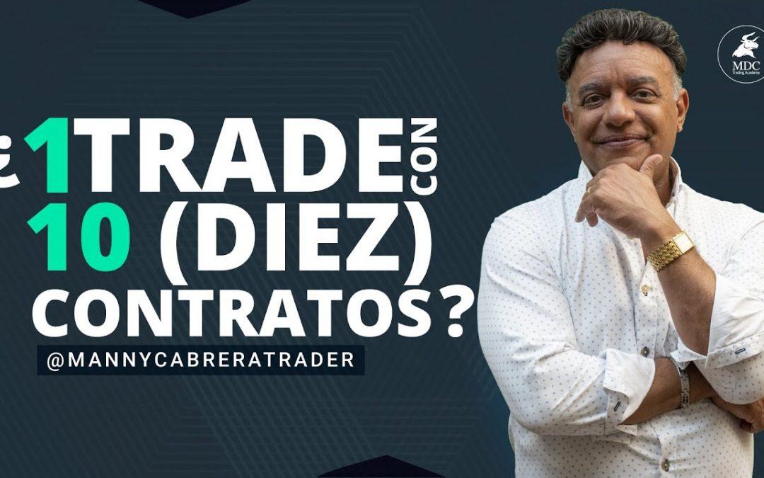 Operar mercados con múltiples contratos