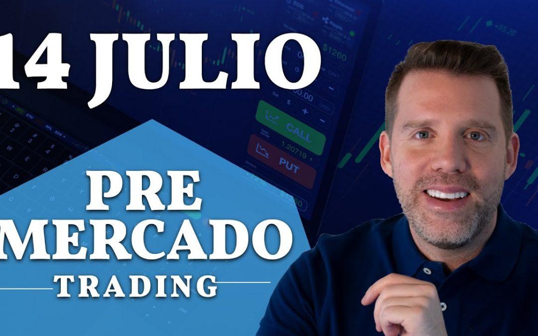 TEMPORADA de RESULTADOS LLEGÓ | BOLSA de VALORES HOY JULIO 2020 | DANY PEREZ TRADER