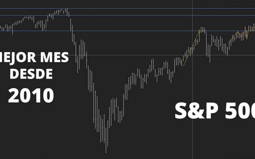 El mejor mes desde 2010 S&P 500 [Acción del precio] 📈 Sebas Zuluaga