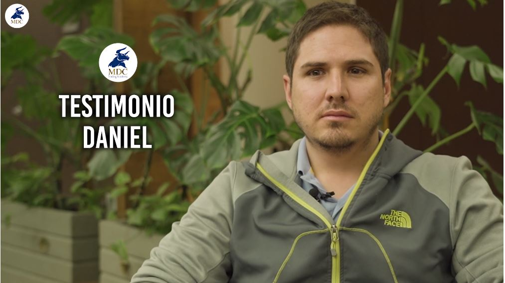 Daniel testimonio de trading de MDC Trading Academy