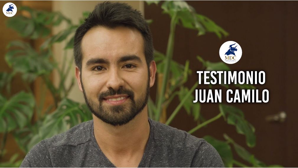 Juan Camilo testimonio de trading de MDC Trading Academy