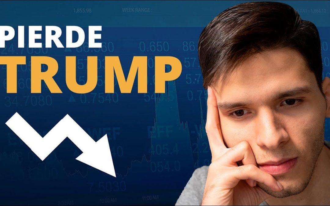 ¿Pierde Elecciones Trump? Nasdaq Volátil, SP 500 Recupera, Estímulos económicos