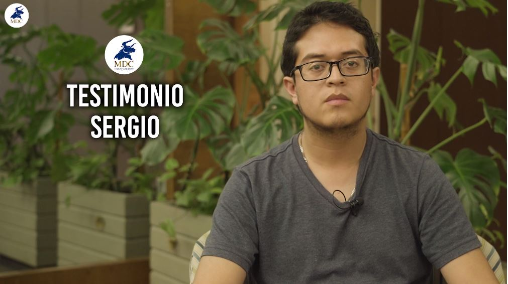 Sergio testimonio de trading de MDC Trading Academy