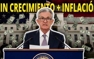Sin Crecimiento + Inflación en EEUU ¿Viene una Crisis? Esto es lo que TIENES que Saber